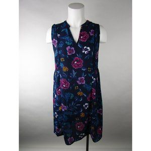 Old Navy Floral Sleeveless V-Neck  Shift Dress